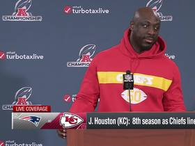 Watch: Justin Houston addresses the media ahead of first AFC Championship appearance