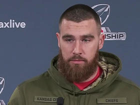 Watch: Travis Kelce addresses the media ahead of first AFC Championship appearance