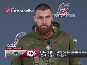Watch: Kelce on playing Gronk: I cherish getting to face the elite tight ends