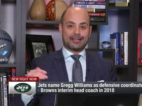 Watch: Garafolo details DC Gregg Williams' contract with the Jets