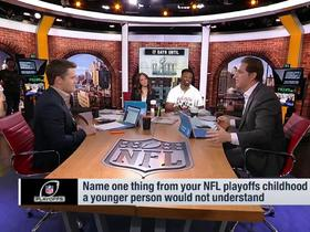 Watch: GMFB recall their favorite childhood memories from the NFL playoffs