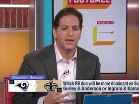 Watch: Schrager: Kamara might be the 'most dynamic player' when in open space