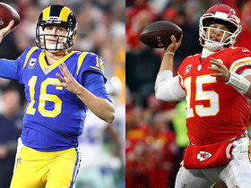 Watch: Which QB's stock would rise more with a trip to the SB: Goff or Mahomes?