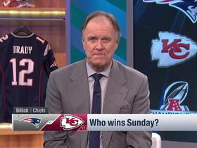 Watch: Brian Billick's game pick for Pats-Chiefs