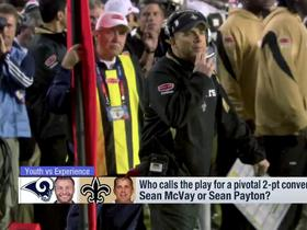 Watch: Who calls the play for a pivotal 2-pt conversion: McVay or Payton?