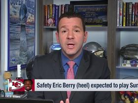 Watch: Ian Rapoport: Eric Berry expected to play in AFC championship