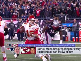 Watch: Palmer: Watkins can be x-factor if Pats shutdown Hill or Kelce