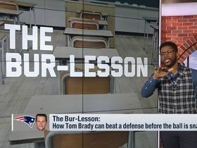 Watch: Nate Burleson: Tom Brady stays successful with high IQ and elite play-calling