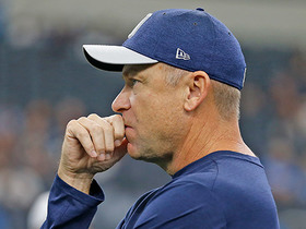 Watch: Cowboys fire offensive coordinator Scott Linehan