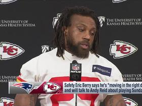 Watch: Eric Berry: I wanted to play in Divisional Round vs. Colts