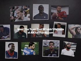 Watch: Verizon launches campaign to honor first responders who changed NFL lives