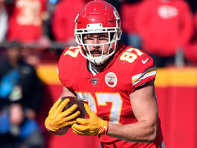 Watch: Game Theory: Championship Sunday projections for Travis Kelce