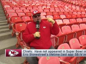 Watch: Eric Stonestreet reports from Arrowhead Stadium