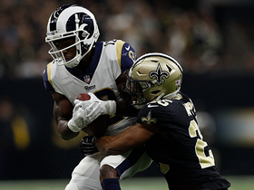 Watch: Goff beats Saints' third-down blitz with strike to Cooks for 17 yards
