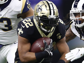 Watch: Mark Ingram gashes Rams' D for 16 yards