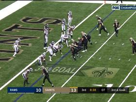 Watch: Taysom Hill bowls into end zone for first career TD catch