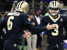 Watch: Wil Lutz gives Saints late lead with 31-yard FG