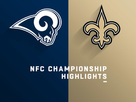 Watch: Rams vs. Saints highlights | NFC Championship Game