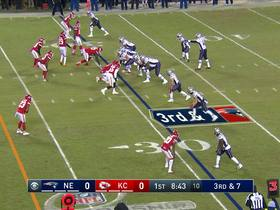 Watch: Brady rips third-down pass to Edelman over the middle