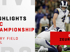 Watch: Every Greg Zuerlein FG from huge day vs. Saints | NFC Championship Game