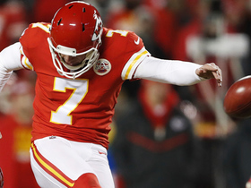 Watch: Harrison Butker sends game to OT with 39-yard FG