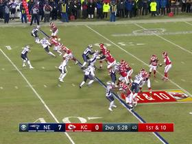 Watch: Patrick Mahomes' most impressive throws | AFC Championship Game