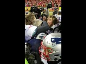Watch: Teammates mob Tom Brady after dramatic OT win