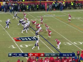 Watch: Dee Ford lines up offsides on would-be interception