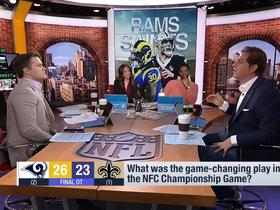 Watch: Schrager: Special teams were a 'huge part' of the NFC Championship game