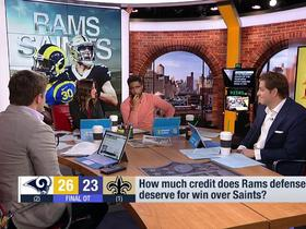 Watch: Kay Adams: The Rams took down the 'best team in the NFL'