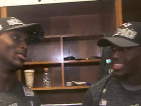 Watch: McCourty brothers discuss winning AFC Championship Game together