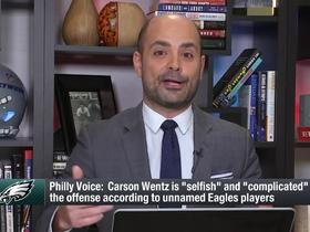 Watch: Garafolo: Context of 'Philly Voice' story about Wentz is 'not correct'
