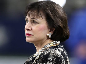 Watch: Gayle Benson issues statement on NFC Championship Game