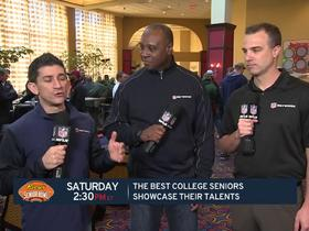Watch: Players to watch at Senior Bowl practice this week
