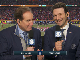 Watch: See every play Romo accurately predicted in Pats-Chiefs