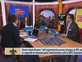 Watch: 'GMFB' discuss the impact of the non-call for the Saints