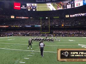 Watch: Homer and Away Radio for the ending of Rams vs Saints