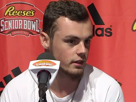 Watch: Trace McSorley addresses media from Senior Bowl practice