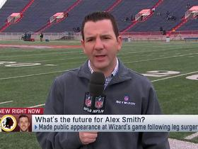 Watch: Rapoport: 'Supreme long shot' for Alex Smith to be ready at start of 2019 season