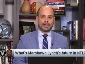 Watch: Garafolo: Lynch's 2019 return could depend on Raiders' playing location