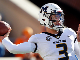 Watch: Why Missouri Tigers quarterback Drew Lock's elite arm makes him a top QB prospect in 2019