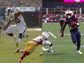 Watch: Gurley VS Michel Super Bowl Storybox