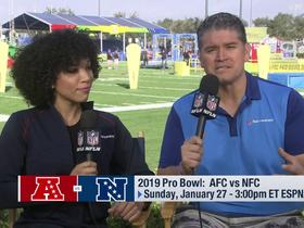 Watch: MJ Acosta and Omar Ruiz discuss the 2019 Pro Bowl