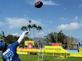 Watch: Davante Adams LAUNCHES throw at Pro Bowl practice