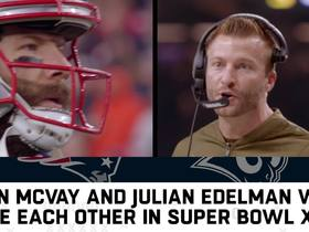 Watch: Sean McVay played Julian Edelman in college
