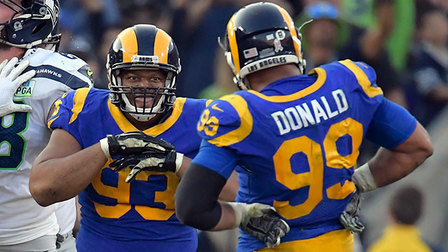 43eb0b1fd Breaking down Los Angeles Rams defensive tackle Aaron Donald and Ndamukong  Suh vs. the run