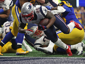 Watch: Sony Michel burrows in for first TD of SBLIII