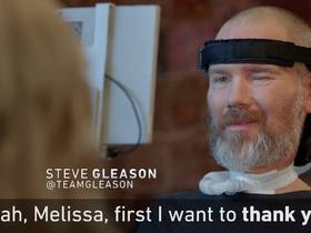 Watch: Former NFL player Steve Gleason speaks on what it's like living with ALS