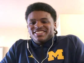 Watch: Devin Bush: Combine will show 'why I'm a premier player in this draft'