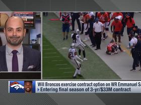 Watch: Pelissero: Broncos haven't approached Sanders about a pay cut yet